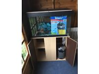 Fluval Fish Tank and Tetratec pump for sale