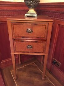 Two bespoke cabinets.