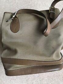 LADIES BEIGE BAG-POST OR COLLECT SURREY
