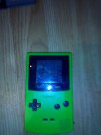 Gsme boy colour with games