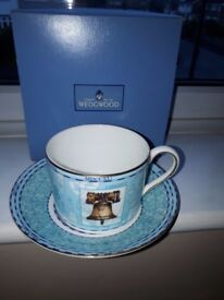 Wedgewood millenium cup and saucer