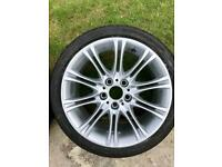 "18"" BMW MV2 alloy rims"