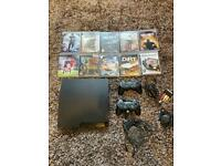 PlayStation 3 with eight games