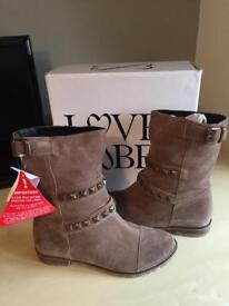 Love Label Boots Size 4