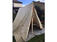 Re-enactors Canvas Tent