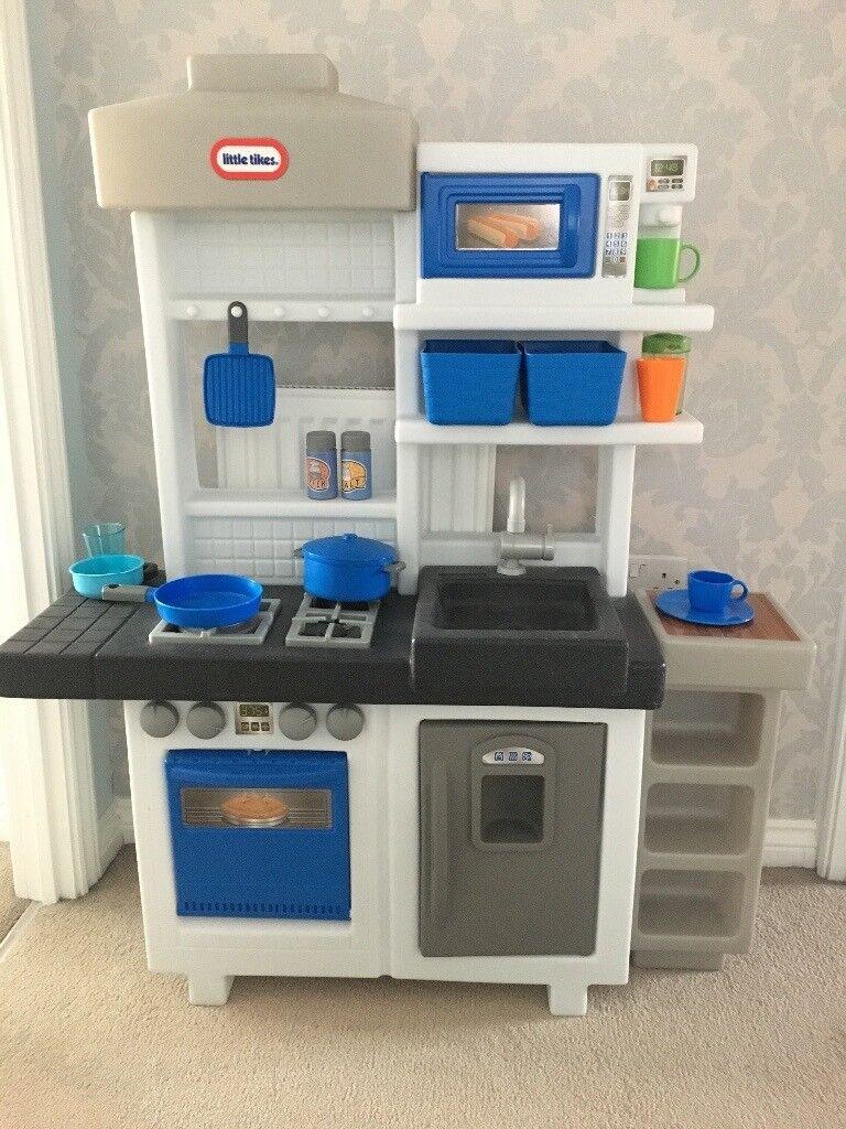 Little tikes blue kitchen