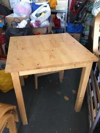 Ikea Solid Wood Table