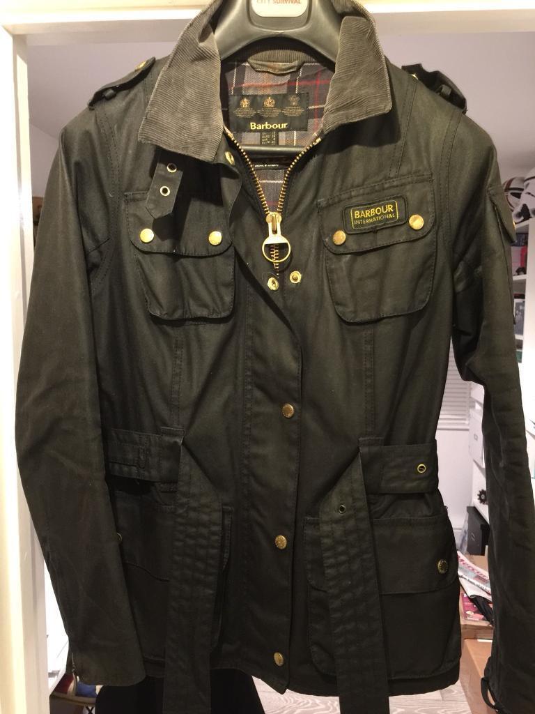cf50fe726f35 Women s Barbour international wax jacket