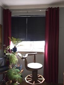 Harry Corry Red Curtains for sale