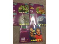 For sale Read and Write Inc Non-fiction of 5 purple books.