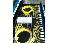 fiber optic cable installation, maintenance and testing services