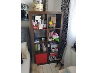 2x book case and tv table