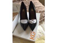 KG Black ladies shoes