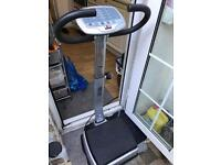 Exercise vibrating plate