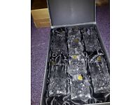 lead Crsyatal glasses brand new