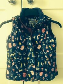 Joules Padded Gilet - Age 4