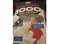 The Avengers dot to dot book (1000 dots) BN