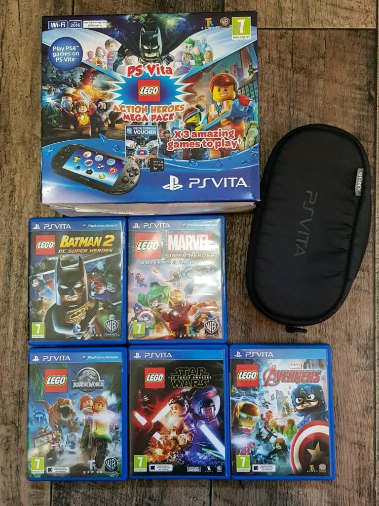 Ps vita bundle ( 9 games )