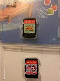 Nintendo switch lite and games