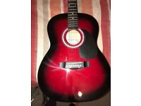 Martin smith guitar cherry burst