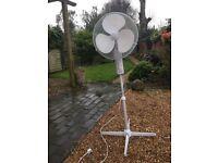 "16"" 3 Speed Pedestal Fan (Adjustable Height/Tilt) 2 available £10 each"