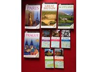 9 DK Eyewitness Travel Guide Books