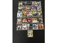 PS3 Slim and 21 games