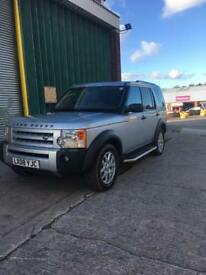 Landrover discovery 3 tdv6 2008 08 top spec