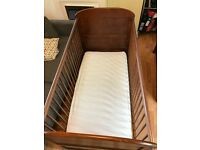 Cot to toddler bed suitable from birth to around 5 years
