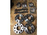 Volkswagen wheel hub adapters 5x100 to 5x112