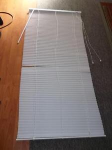 27.5 x 63 White Blinds