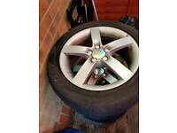4 Alloy wheels with tyres Seat Leon MK1