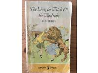 Rare C.S Lewis book lion the witch and the wardrobe.
