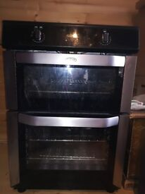 Induction cooker, oven and grill