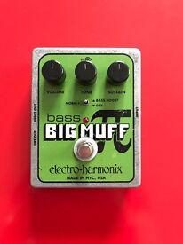 Big Muff bass pedal Electro Harmonix