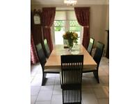 Marble Dining Table & Chairs
