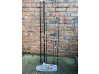 2 x Mitchell Beachcaster Rods