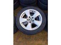 "Bmw 17"" E60 E61 E46 E90 E91 122 Star Spoke Spare Single Wheel Can Post"