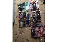 joblot computer mother boards