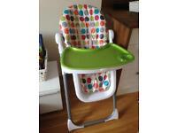Mamas & papas pesto deluxe high chair
