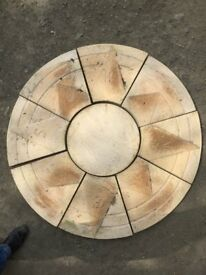 Living Stone mini Compas 1.3 Diameter Slabs
