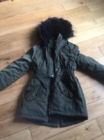 Girls winter coat age 9-10 years