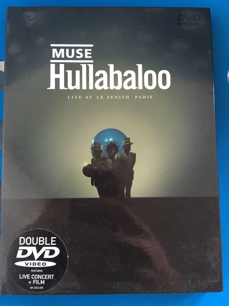 Muse Hullabaloo live in Paris 2 DVD + extra double cd
