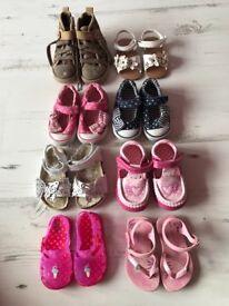 Toddler Girls shoe bundle size 3