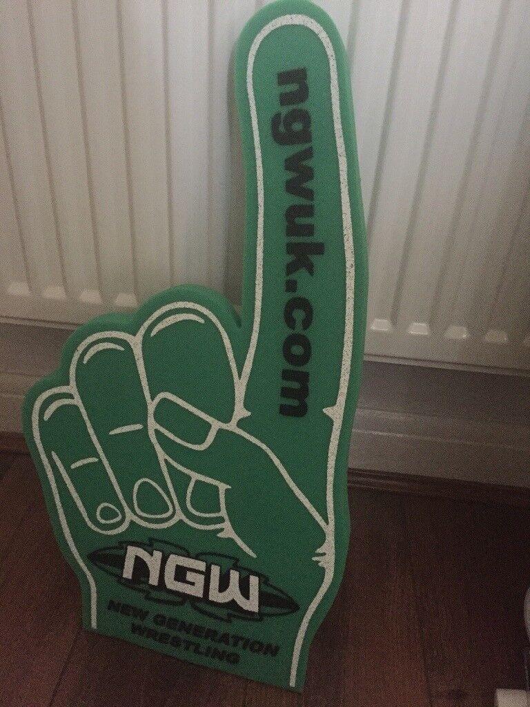 NGL Foam Wrestling Hand