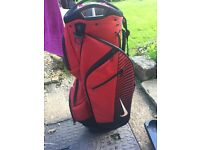 Nike golf bag for trolleys