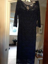 Per Una Navy lace dress