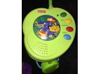 Fisher price rainforest peak a boo musical cot toy/ mobil