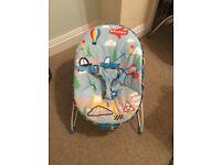 Boys bouncy chair