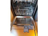 Silver BUSH dishwasher